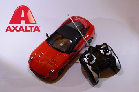 Axalta will award up to 80 winners with remote-controlled 1/18 Ferrari 599 GTO V12 Berlinettas. (Photo: Axalta)