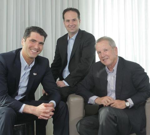 Mody Kidon, Yaniv Melamud and Peter Auerbach (Photo: Business Wire)