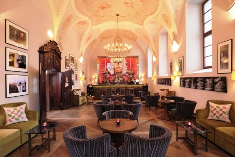 Starwood Hotels & Resorts - Augustine, a Luxury Collection Hotel, Prague - Refectory Bar 1887 (Photo: Business Wire)