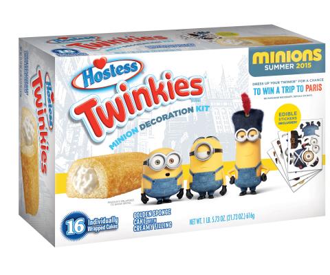 Limited-edition Twinkies Minion Decoration Kit. (Photo: Business Wire)