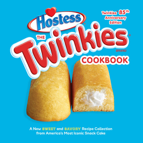 The Twinkies Cookbook, Twinkies 85th Anniversary Edition: A New Sweet and Savory Recipe Collection from America's Most Iconic Snack Cake is available wherever books are sold. (Photo: Business Wire)