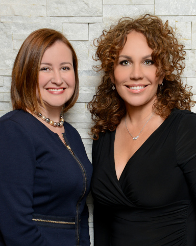 Patricia Carral (left) a recognized leader in wealth planning joins International Wealth Protection. Shown here with Mary Oliva (right), President of International Wealth Protection. (Photo: JDR Photography)