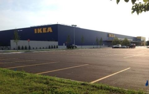 IKEA, the world's leading home furnishings retailer, today completed the expansion of its Detroit-area store in Canton, MI. As a result, IKEA Canton, which opened June 2006 as 311,000 square feet in size, now has grown 44,000 SF to the new size of 355,000 SF. (Photo: Business Wire)