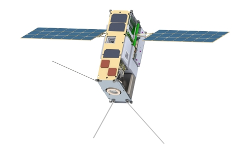 Lunar IceCube Satellite (courtesy Morehead State University) (Photo: Business Wire)