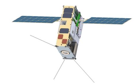 Lunar IceCube Satellite (courtesy Morehead State University) (Photo: Business Wire)