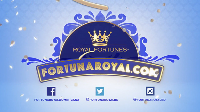 Royal Fortunes commercial for Dominican Republic lottery players