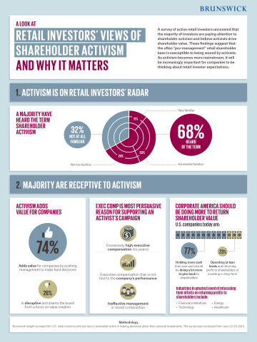 Retail Investors' Views of Shareholder Activism - and Why It Matters (Graphic: Business Wire)