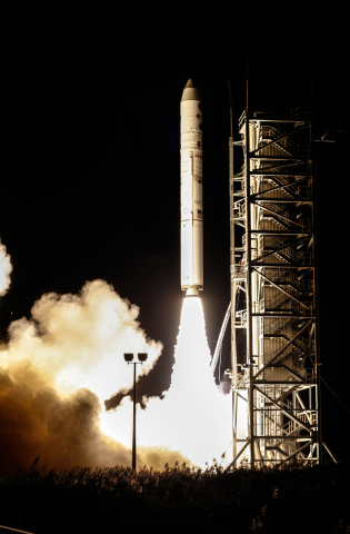 An Orbital ATK Minotaur IV launched NASA's Ladee spacecraft on its mission to the moon on September  ...