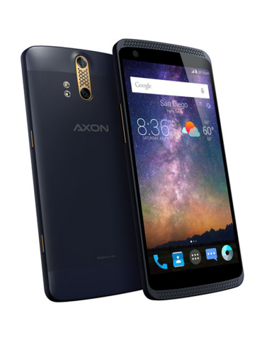ZTE's Axon phone is available for preorder at www.zteusa.com/axon. (Photo: Business Wire)