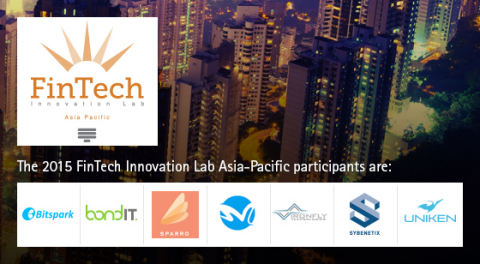 2015 FinTech Innovation Lab Asia-Pacific Participants (Graphic: Business Wire)
