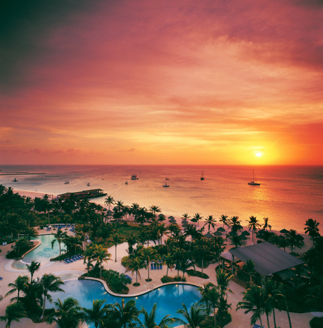 Hilton Hotels & Resorts expands Caribbean portfolio with the opening of the 355-room Hilton Aruba Ca ...
