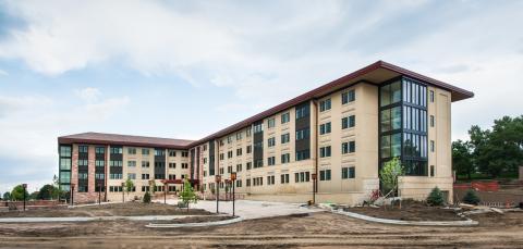 Residence Hall, Colorado Christian University, Lakewood, Colorado. (Graphic: Business Wire)