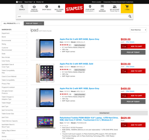 Expanded personalization capabilities on Staples.com will ensure businesses are shown more relevant content, product recommendations and offers (Graphic: Business Wire)
