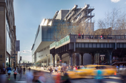 Technomedia is honored to contribute to the ground-breaking new museum in NYC, The Whitney. Credit:  ...