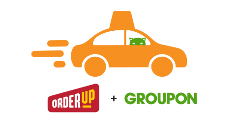 Groupon has acquired OrderUp (www.orderup.com), an on-demand food ordering and delivery marketplace operating in nearly 40 markets across the United States (Graphic: Business Wire)