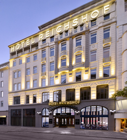 landmark reichshof hamburg opens as first curio a collection by hilton in europe following. Black Bedroom Furniture Sets. Home Design Ideas