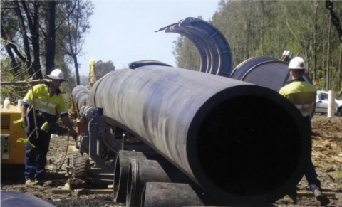 Qenos' Alkadyne(R) PE100 pipe resin, produced with Univation PRODIGY(TM) Bimodal HDPE technology, has received globally recognized ISO certifications. (Photo Credit: Qenos)
