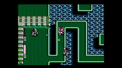 In Blaster Master, main character Jason goes after his rogue pet frog, Fred, and both fall into a wo ...