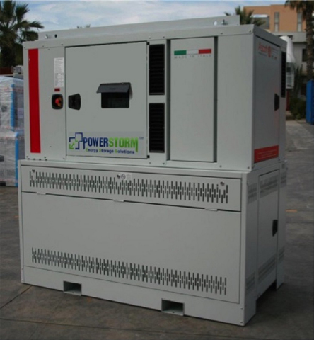 Powerstorm Modular Energy Storage Solution (MESS) (Photo: Business Wire)