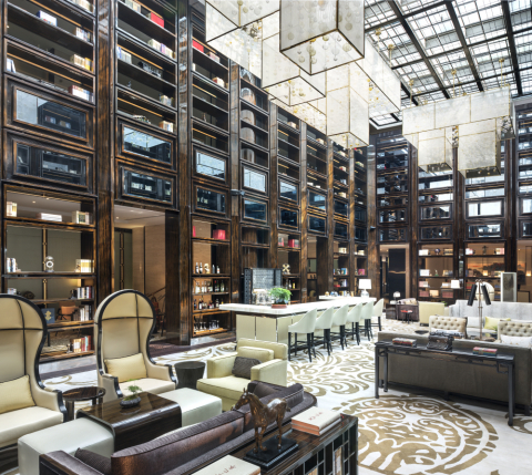 The Travellers' Library at Grand Mansion, a Luxury Collection Hotel, Nanjing (Photo: Business Wire)