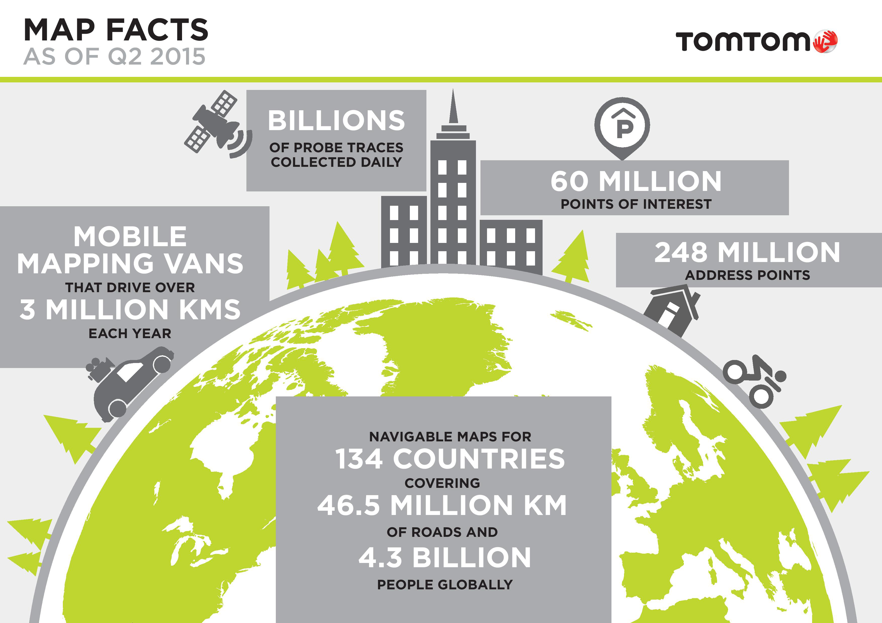 TomTom Expands Map Footprint Globally Business Wire - Us maps for tomtom