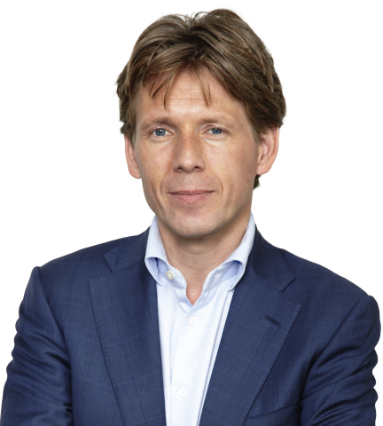 Taco Titulaer, TomTom's new CFO (Photo: Business Wire)