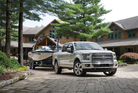 The new Limited expands the F-150 model lineup - Ford's toughest, smartest, safest and most capable  ...