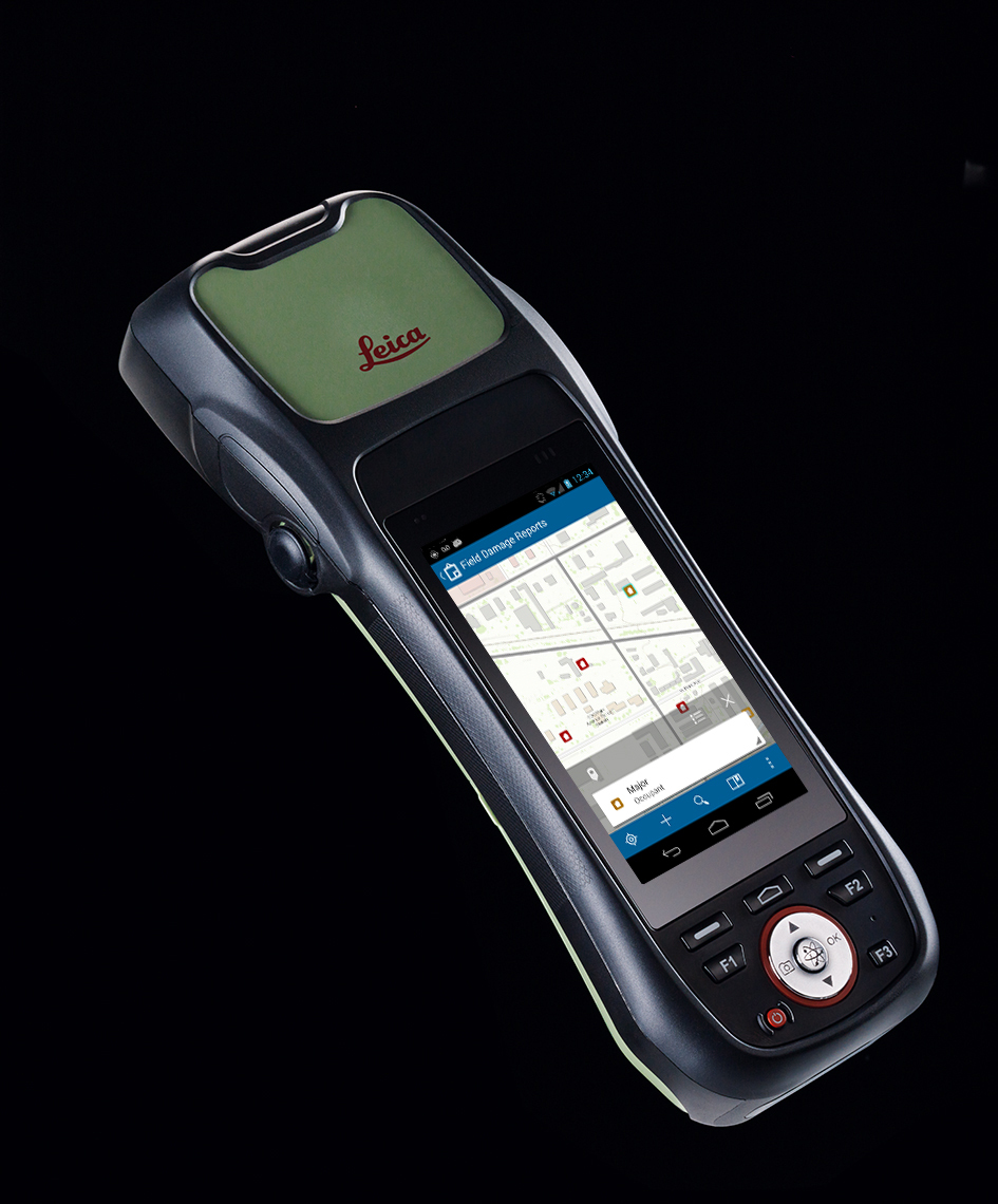 Esri and Leica Geosystems Supercharge Mobile Data Collection