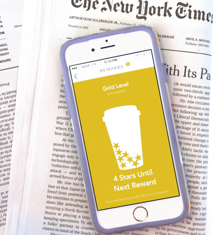 Starbucks Creates First-of-its-Kind Digital News Experience with The New York Times (Photo: Business Wire)