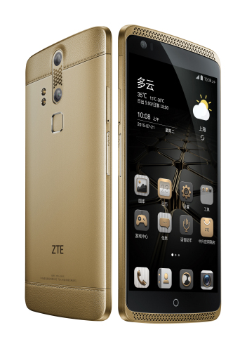 ZTE Axon phone (Photo: Business Wire)