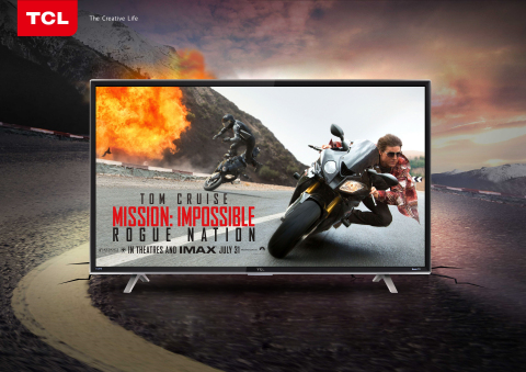 TCL, the world's 3rd largest manufacturer of TVs, and Paramount Pictures are partnering for the upco ...