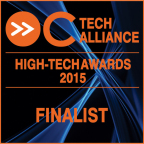 Conexant has been named a finalist in the Orange County Technology Alliance annual High-Tech Innovation Awards for its AudioSmart CX3803 Input Preprocessing Software for Windows. (Graphic: Business Wire)