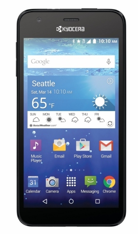 Kyocera Communications Inc. today unveiled its newest waterproof 4G LTE Android smartphone – the Kyo ...