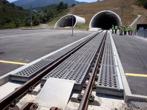The Figueras-Perpignan High Speed Line, between Spain and France, developed by SENER (Photo: Busines ...