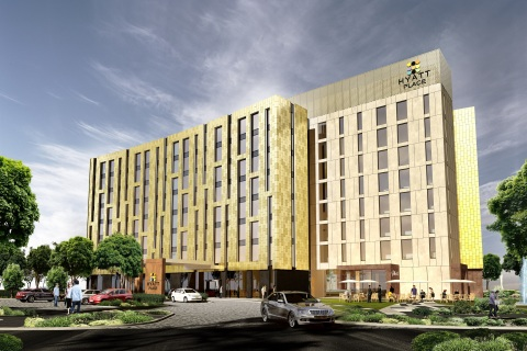 Hyatt Place Melbourne exterior rendering (Photo: Business Wire)