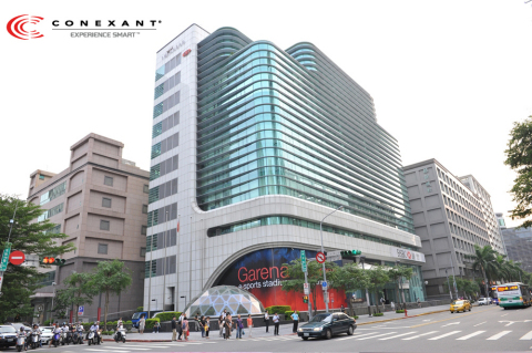 Conexant has expanded its Asia Pacific audio business by opening a new office in Taipei's Technology Corridor. The new office supports a larger staff and contains cutting-edge facilities to provide greater localized support to Taiwan customers. (Photo: Business Wire)