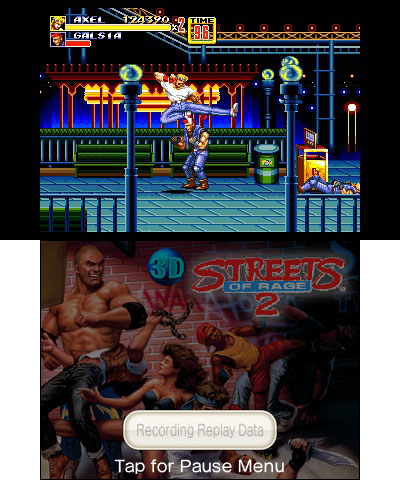 Slam the asphalt with bigger, better and totally devastating attacks in 3D Streets of Rage 2. (Photo ...