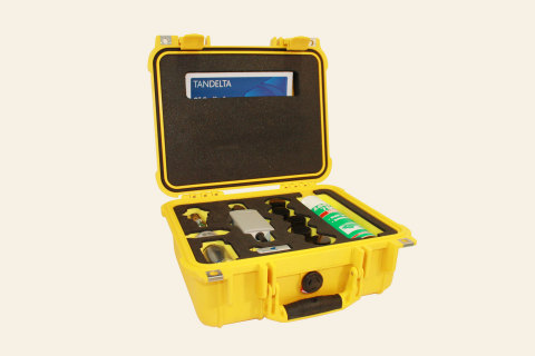 Tan Delta Mobile Oil Test Kit (Photo: Business Wire)