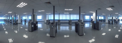 The Foshan City facility is the first of four new 3D printing service centers designed to create the largest 3D printing service bureau in China. Currently, there are 100 Solidscape high precision 3D printers installed and ready to serve the domestic Chinese jewelry and other manufacturing industries. (Photo: Business Wire)