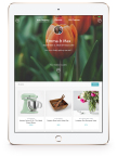 Enjoy a seamless Zola registry experience across desktop, iPhone, Apple Watch and now, iPad. (Photo: Business Wire)