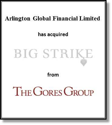 Intrepid served as exclusive financial advisor to Arlington Global Financial. (Graphic: Business Wire)