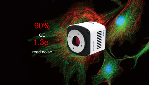 Tucsen launches Dhyana 90, a 2k x 2k, 50fps scientific CMOS camera with a world beating quantum effi ...
