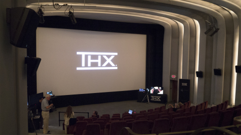 Screening Theater at 32TEN Studios in San Rafael, CA (Photo: Business Wire)