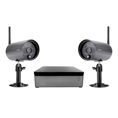 Uniden America Corp. has launched the Uniden WDVR, the first fully integrated wireless DVR video sur ...