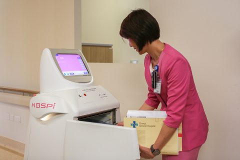 HOSPI is equipped with security features of which contents can only be accessed with ID cards to prevent tampering, theft and damage during delivery. (Photo: Business Wire)