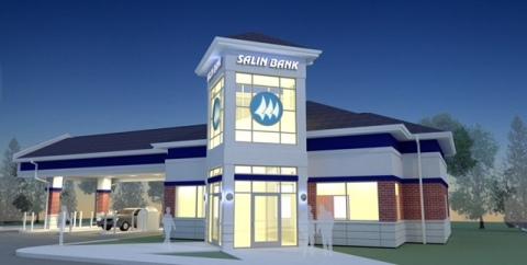 Salin Bank's newest location in Kokomo, Indiana. (Photo: Business Wire)
