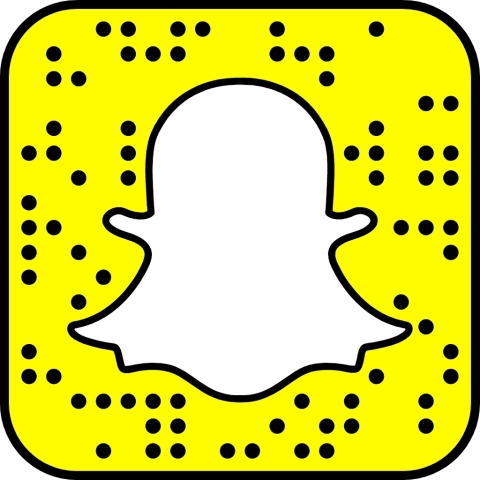 To add iHeartRadio on Snapchat, open Snapchat's in-app camera and hover over this Snapcode (Graphic: Business Wire)