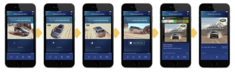 Sponsored Listening's interactive 360-degree product views on Pandora. (Photo: Business Wire)