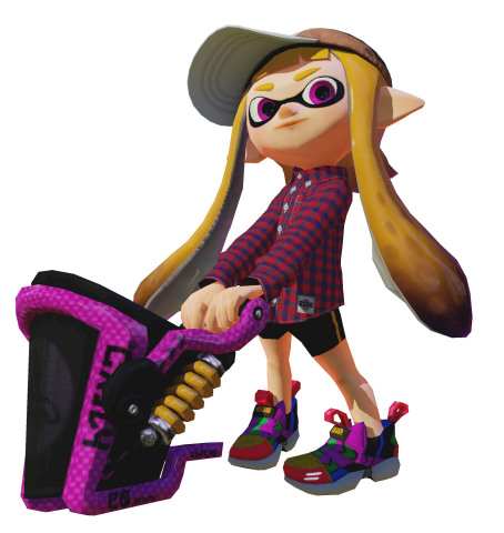 On Aug. 5, a free software update in the Splatoon game for the Wii U console brings a large amount of new content to the game, including two new matchmaking modes, new weapon types, an increase to the game's level cap and more than 40 pieces of new gear. (Photo: Business Wire)