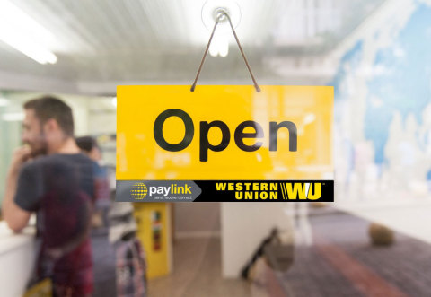 Western Union opened for business today in Greece allowing customers to receive cash payouts in minu ...